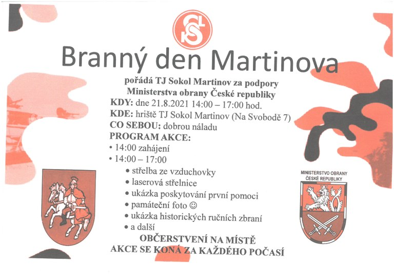 Branný den Martinova