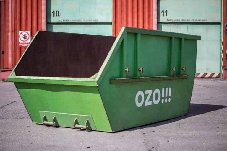 Velkoobjemové kontejnery podzim 2020